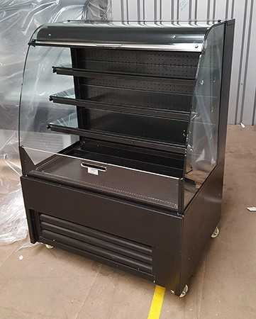 a4afe0e1 Used Black Steel Grab & Go Chilled Display Chiller (£750 +VAT) - ECO ...