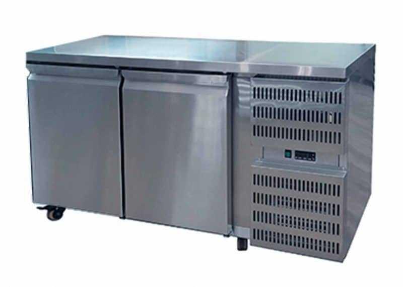 2 Door Counter Freezer