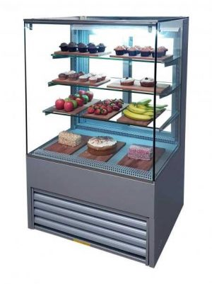 Patisserie Display Fridge ECO-P75/90CC Flat Glass 900 mm