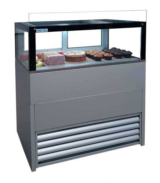 Steel Double Glazed Counter 1000 mm