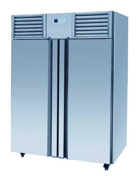 Eco Premium Stainless Steel Upright Double Door Freezer