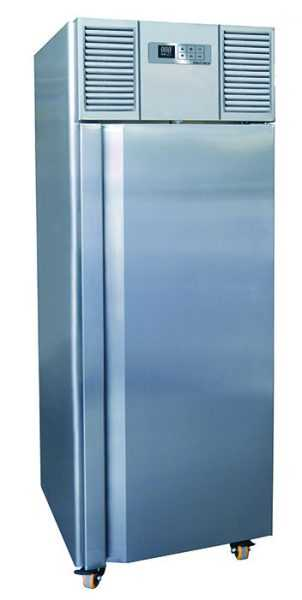 Frost Tech Eco Premium Stainless Steel Upright Freezer