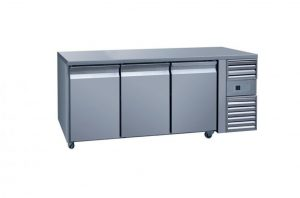 3 Door Counter Freezer