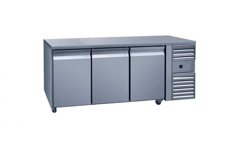 3 Door Counter Freezer