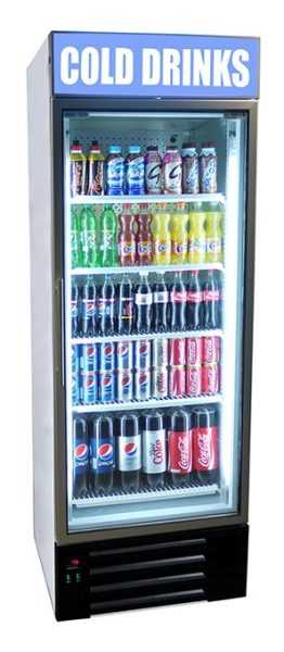 Frost Tech Upright Single Door Canopy Display Chiller