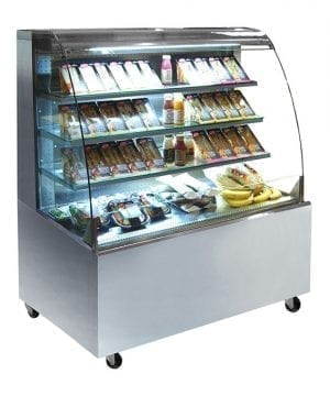 Grab and Go Display with Castors