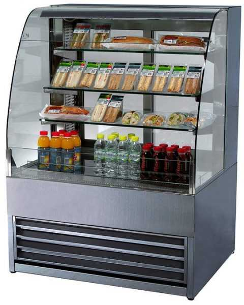 Frost-Tech Stainless Steel Open Patisserie Cabinet