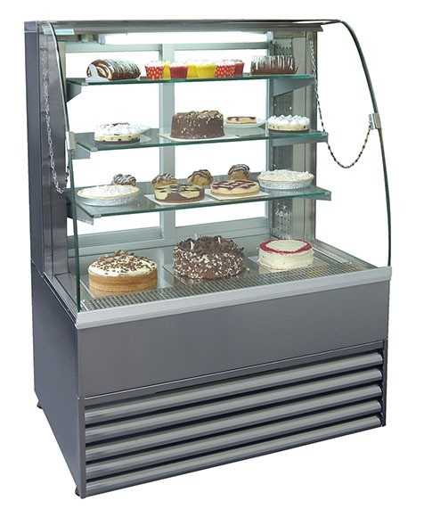 Frost-Tech Stainless Steel Patisserie Cabinet