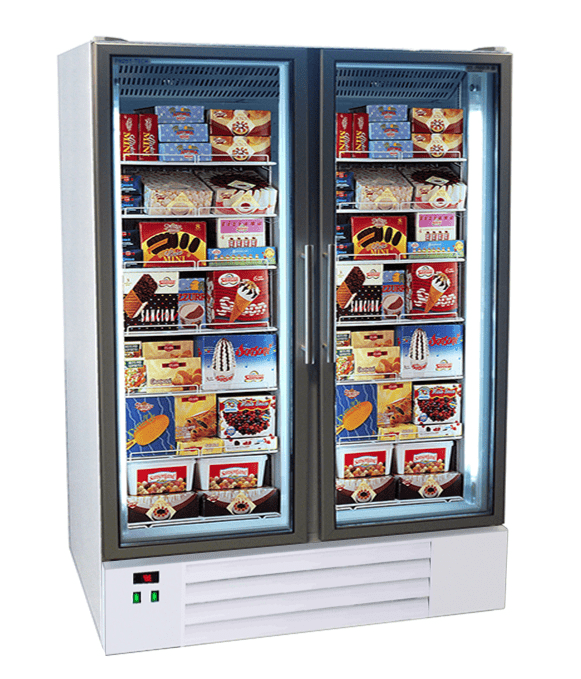 Commercial Upright Freezers With Glass Doors Eco Fridge Ltd