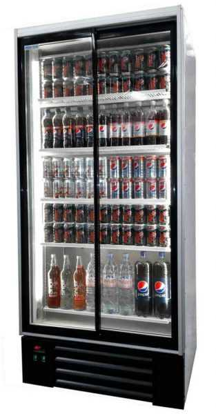 Double door high spec upright bottle coolers with LED integrated side  lights, 5 adjustable shelves and digital controller are a great way to  improve your ...