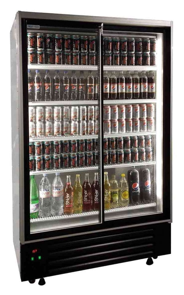 Upright Large Double Door Display Chiller Eco Fridge Ltd