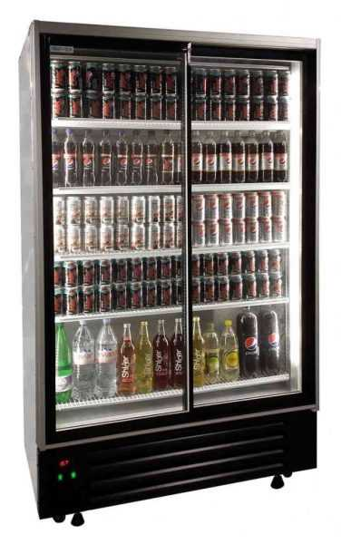 Commercial Upright Fridge Tall Display Fridges Eco